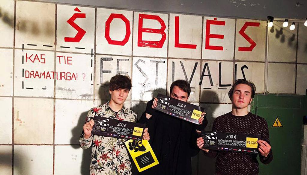 "Short film ""Square"" was awarded at Šoblė Film Festival"