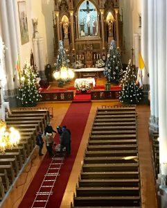 KALBANČIOS SIENOS: Anykščių Šv. Mato bažnyčia