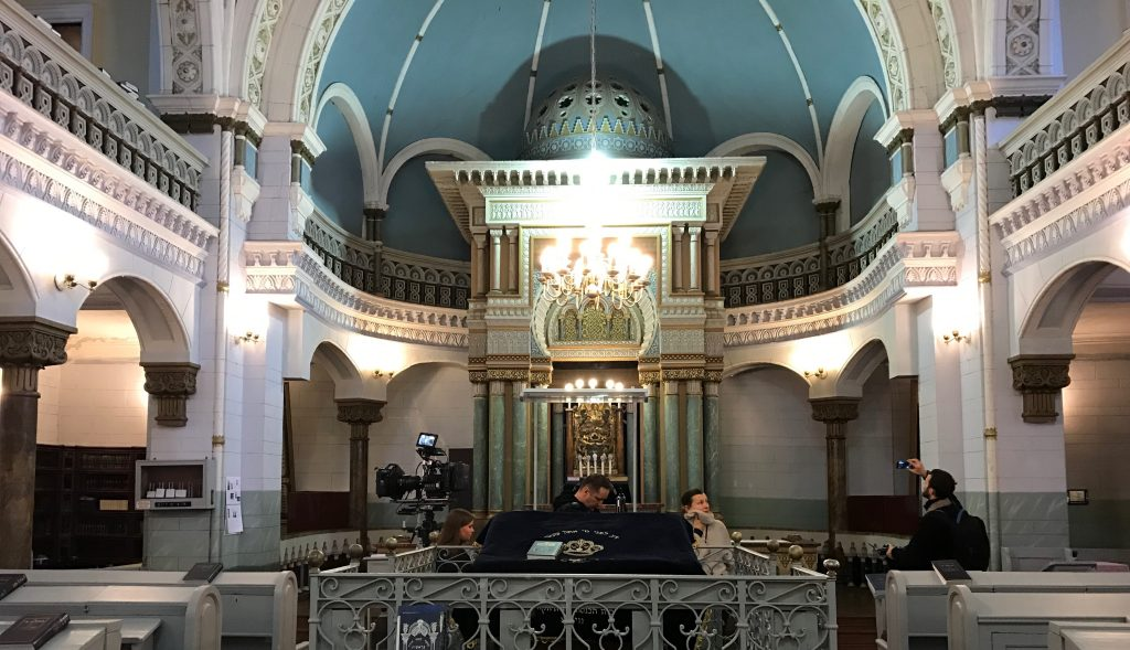 THIN PLACES: Vilnius synagogue and orthodox church