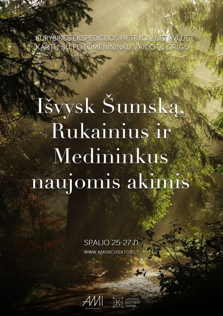 Kūrybinės ekspedicijos pietryčių Lietuvoje